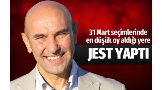 Tunç Soyer İzmir'de en düşük oy aldığı Dokuzlar Köyü'ne jest yaptı...