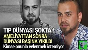 Aydın'da 23 yaşındaki Mehmet Uyar, kalın bağırsak ameliyatından sonra sperm kanallarının hasar görmesi sonucu kısır kaldığını öğrendi.