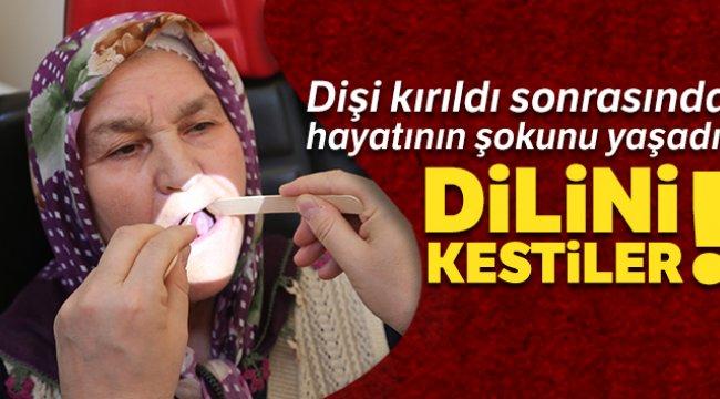 Denizli'de 75 yaşındaki kadın, kırılan dişinden dil kanseri oldu