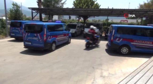 Fethiye'de tartıştığı kişiyi bıçakla öldüren zanlı tutuklandı