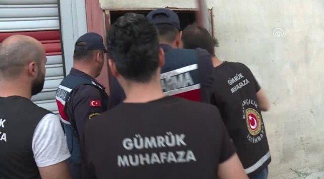 İzmir'de sahte içki 'fabrikası' ortaya çıkarıldı