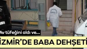 İzmir'in Bayraklı ilçesinde, baba dehşeti...