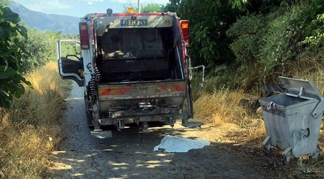 İzmir'in Torbalı ilçesi çöp konteynerinde bebek cesedi bulundu