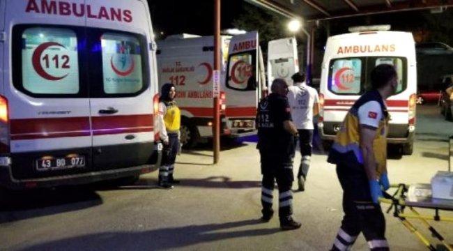 Kütahya'da iki köyün husumetli gençleri arasında bıçaklı-sopalı kavga: 9 yaralı, 6 gözaltı