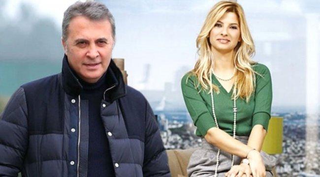 Mehmet Ali Erbil'in eski eşi Tuğba Coşkun ve Beşiktaş Başkanı Fikret Orman ilk kez görüntülendi