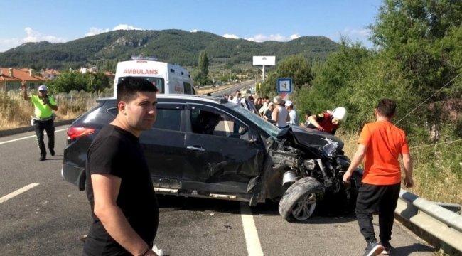 Muğla'da kaza: 1 ölü, 7 yaralı