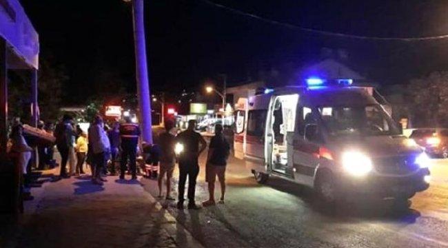 MUĞLA'nın Fethiye ilçesinde, Motosikletin çarptığı İngiliz öldü, 2 kişi yaralandı