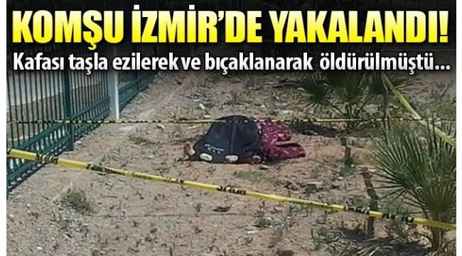 Aydın'ın Köşk ilçesinde öldürülen kişinin katil zanlısı İzmir'de yakalandı.