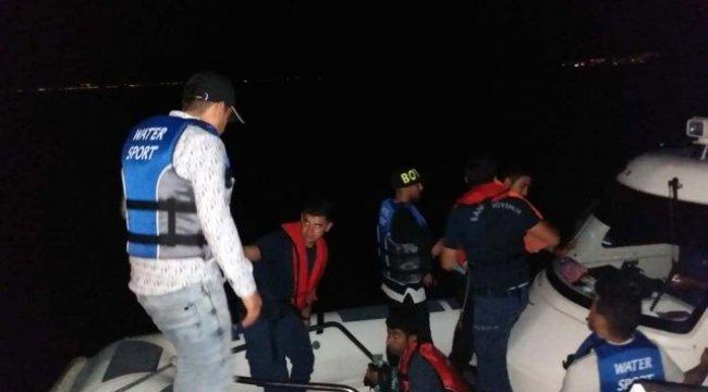 Bodrum'da 10 kaçak göçmen yakalandı