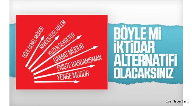 CHP'li Belediye başkanlarının birinci dereceden akrabalarını makam sahibi yapmasının ortaya çıkması, partide büyük bir telaşa neden oldu.