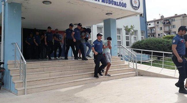 İzmir'de operasyon: 41 kişi tutuklandı
