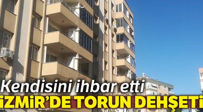 İzmir'de torun dehşeti