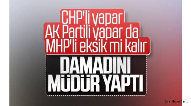 Manisa Büyükşehir Belediye Başkanı Cengiz Ergün'ün damadı Engin Anlı, belediyeye ait şirketin genel müdürü olarak görevde.