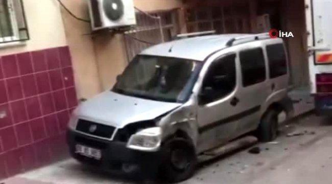 Manisa'da freni boşalan kamyon 8 aracı biçti
