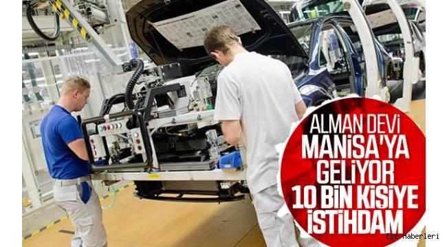 Manisa'da kurulacak Volkswagen fabrikası binlerce kişiyi iş sahibi yapacak