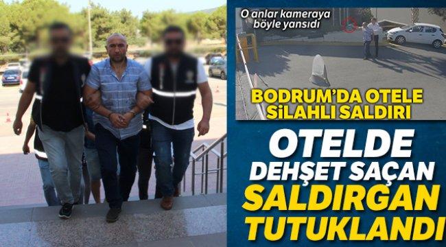 Muğla'nın Bodrum ilçesinde otelde dehşet saçan şahıs tutuklandı