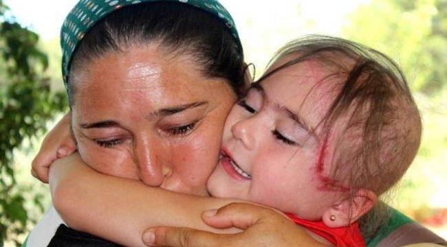 Muğla'nın Menteşe İlçesinde bir anlık dikkatsizlik minik Ezginaz'a dehşeti yaşattı