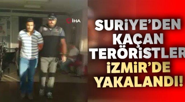 Suriye'den kaçan 3 terörist İzmir'de yakalandı