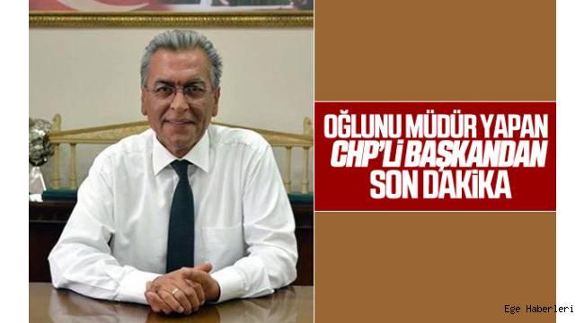 Torbalı Belediye Başkanı Ramazan İsmail Uygur, gelen tepkiler üzerine oğlunu, atadığı belediyedeki müdür yardımcılığı görevinden aldı.