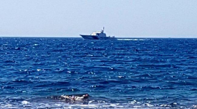 Aydın'ın Didim ilçesinde serinlemek için denize giren iki kişi kayboldu.