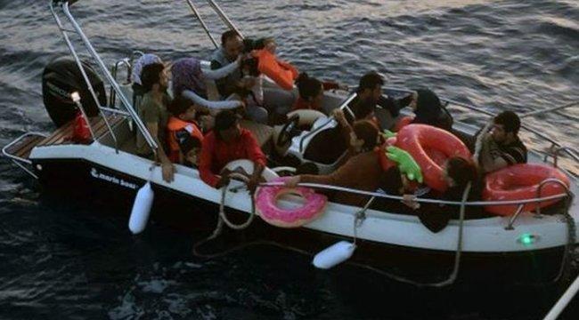 Datça ve Bodrum'da 81 göçmen yakalandı