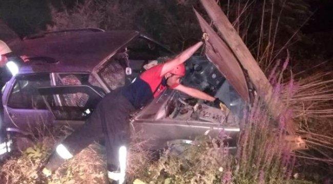 Honaz'da kaza; motosikletli öldü, otomobil sürücüsü yaralı