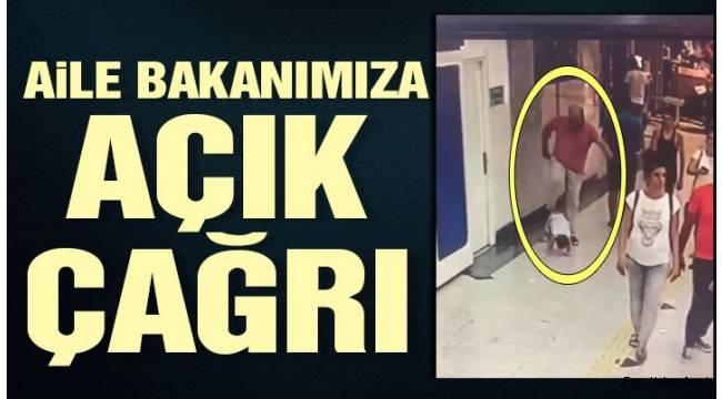 İzmir Balçova'da zalim babadan minik çocuğa acımasız tekme...