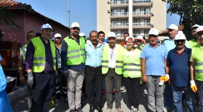İzmir'de temizlik seferberliği başlatıldı