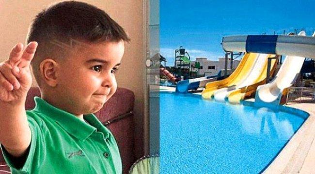 İzmir Özdere'de 4 yaşındaki çocuk 5 yıldızlı otelin havuzunda boğularak can verdi
