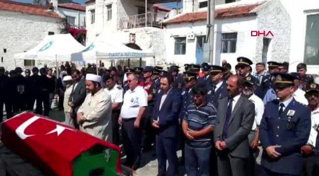 MUĞLA Kore gazisi askeri törenle son yolculuğuna uğurlandı