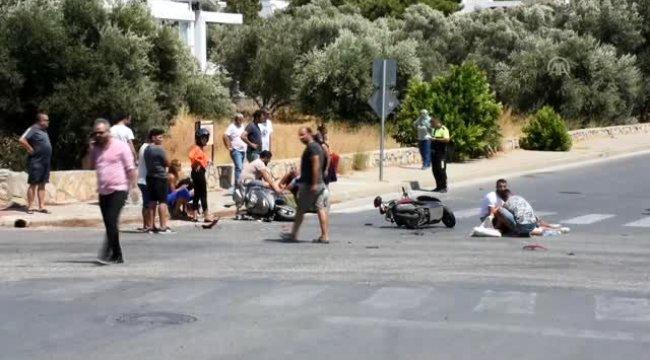 Muğla'nın Bodrum ilçesinde İki motosiklet çarpıştı: 1 ölü, 2 yaralı