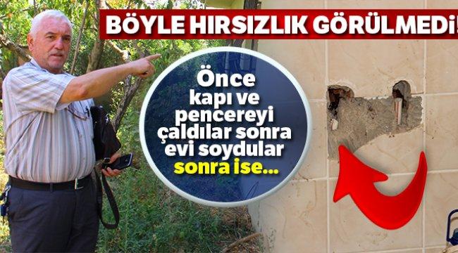 Aydın'da hırsızlığın bu kadarı pes dedirtti..