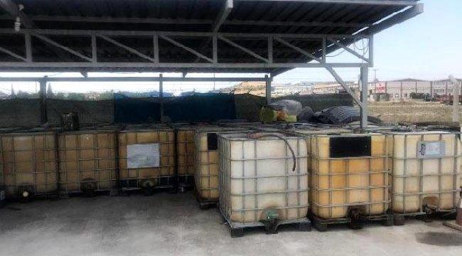Denizli'de 13 bin litre kaçak mazot ele geçirildi