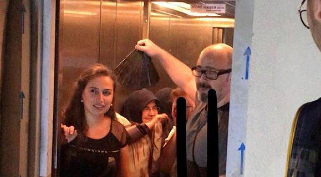 Denizli'de asansörde mahsur kalan 6 kişi kurtarıldı