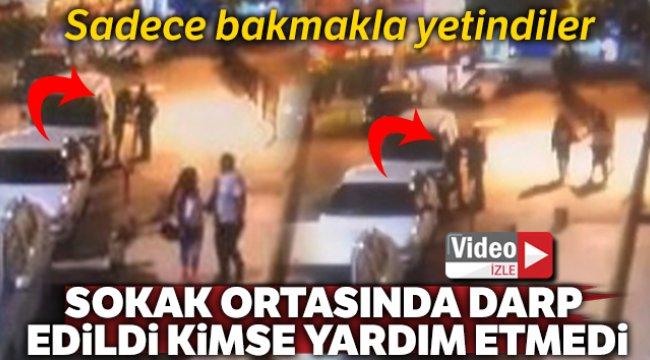 Denizli'de bir kadın sokak ortasında darp edilen kadına kimse yardım etmedi dedi..