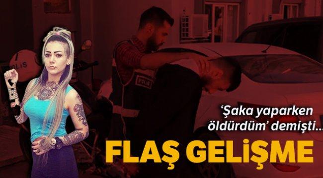 İzmir'in Buca ilçesinde Tuğçe Baran'ı şaka yaparken vurduğunu iddia eden zanlı adliyede