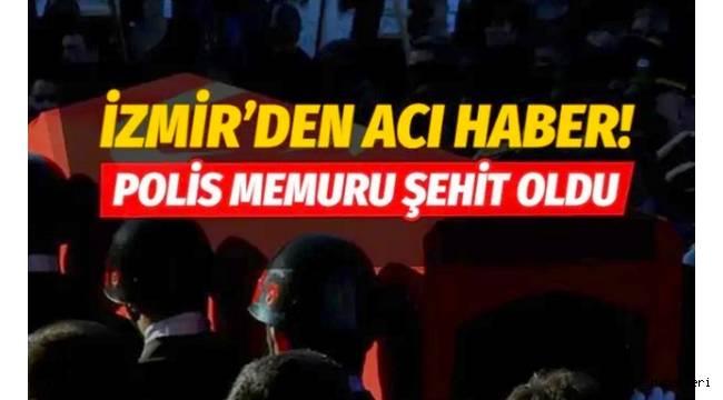 İzmir'in Urla ilçesinde hafif ticari aracın çarptığı trafik polisi şehit oldu