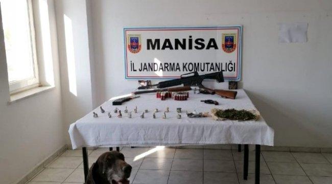 Jandarmadan narko köpekli uyuşturucu operasyonu: 5 gözaltı