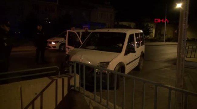 Kütahya polisten kaçan otomobildeki 2 şüpheli gözaltına alındı