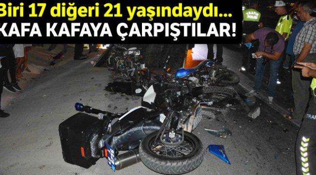 Muğla Dalaman'da motosiklet kazası; 2 ölü