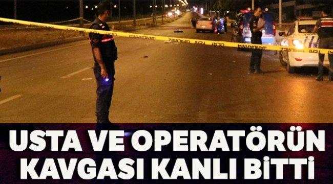 Muğla'nın Marmaris ilçesinde usta ile operatörün kavgası cinayetle bitti