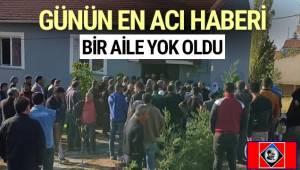 Uşak'ta bir evde çıkan yangında dumandan zehirlenen aynı aileden 3'ü çocuk 4 kişi hayatını kaybetti, 1 kişi hastaneye kaldırıldı.