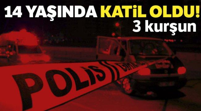 İzmir'in Konak ilçesinde 14 yaşındaki çocuk cinayet işledi
