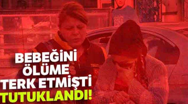 Manisa Turgutlu'da evde doğurduğu bebeği poşete koyup boş bir arsaya bırakan anne tutuklandı...