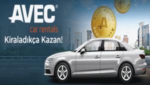 Araç kiralama sektörünün lider markası Avec Rent A Car ile hemen tanışın.