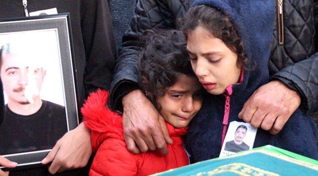 Belediye çalışanının cenazesinde çocuklarının feryadı yürekleri dağladı