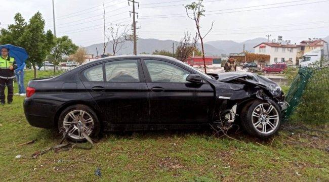 Fethiye'de trafik kazası: 2 yaralı
