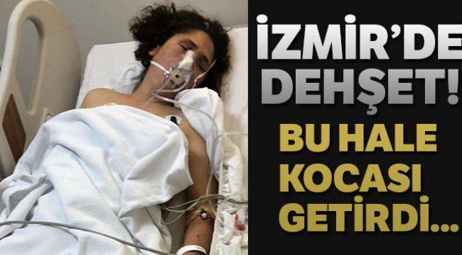İzmir Ödemiş'te cani koca eşini öldüresiye dövdü, kız kardeşleri kurtardı