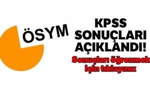 KPSS 2019/2 tercih sonuçları açıklandı! ÖSYM KPSS tercih sonuçları sorgulama