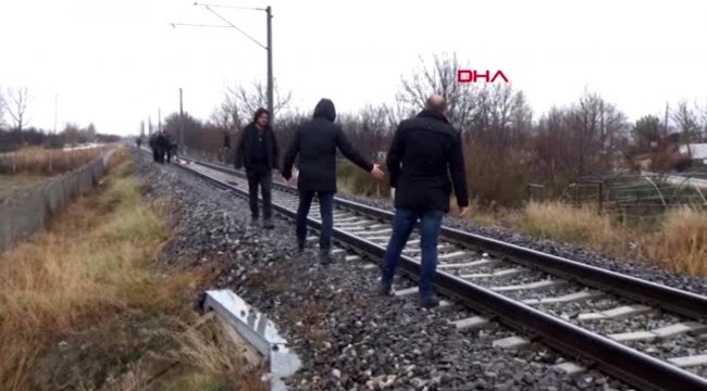 Kütahya kayıp kadının demir yolunda parçalanmış cesedi bulundu